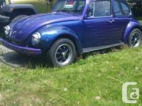 Make. Volkswagen. Model. Beetle. Year. 1972. Colour.