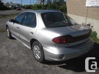 Make Pontiac Model Sunfire Year 2005 Colour SILVER kms