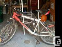 Perfect starter bike for teenagers or shorter adults.