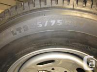 set of 4 Michelin LTX LT245/75R17 Tires on Factory