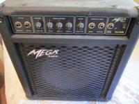 Guitar Amp and cable, utilized but in great working