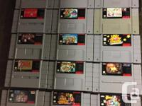 A batch of SNES Games has just arrived, some good