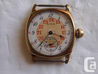 This is a super rare 1916 Elgin mechanical hand-wind