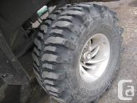 I have 4 Super Swamper Bogger tires for sale 2 are in