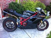 Loaded 2007 Ducati 1098s for sale w/ the following