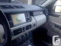 Make Rover Model Range Rover Year 2007 Colour white