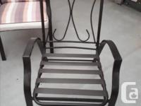 Super comfortable high back chairs constricted with
