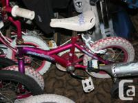 Supercycle Children Bike - Pink - with Training Wheels