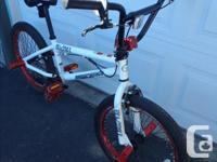 This bmx has 10 inch seat post, 20.5 inch upper rail,