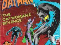 "Unusual '45 ""BATMAN - THE CATWOMAN'S VENGEANCE"" - 45RPM"