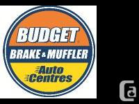 Budget plan Brake & & Muffler Vehicle Centre is a
