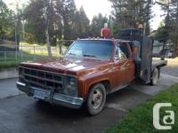 1980 GMC 1Ton Dually(2wd) normal cab with solution box.