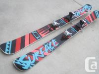 "184cm Surface ""New Life"" Skis for Sale. Nice wood-core"