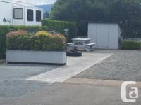 This large lot 64 x 32 is fully fenced and landscaped