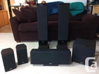 Home theater surround sound system that includes a