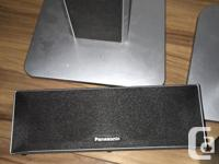 TEXT:  Panasonic surround sound system fully working