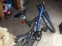 Good condition suspension bike , 6 speed, good hand