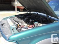 Make Ford Model Explorer Year 1999 Colour Green kms