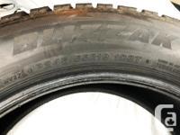 Bridgestone's Blizzak DM-V2 winter tire SUV 245/55R19