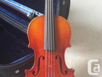 Suzuki Violin Crafted in Japan Established 1887 in