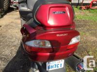 Make Suzuki Model Burgman Year 2007 kms 54550 Suzuki