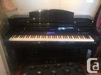 A full-sized Digital Suzuki Piano in excellent