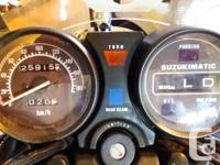 Make Suzuki Year 1982 kms 25915 Time to trim down the