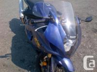 Make Suzuki Model Gsx Year 2003 kms 19400 Starts