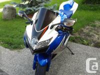 Suzuki GSXR-600 2008 low km 14099 only Hi, Up for sale