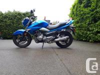 Make Suzuki Model Gw Year 2014 kms 10000 GW 250 for