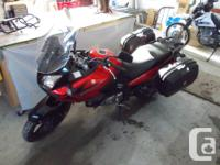 Excellent condition, Givi 36L Side Bags, Givi Crash