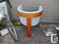 Here is a nice old teak chair for sale. Good overall
