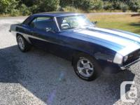 Make Chevrolet Model Camaro Year 1969 Colour blue kms
