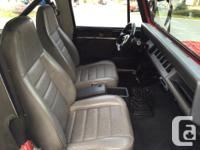 Make Jeep Model YJ Year 1990 Colour Red kms 220000