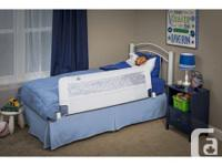 "Swing Down 56-Inch Extra Long and 19"" High Safety Bed"