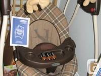 Graco Lovin Hug Baby Swing with instructions.  Used for
