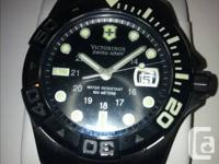 New men's Swiss Military Dive Master 500. This was a