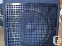 Hi there,   SWR Workingman's 15 Bass Combo in great