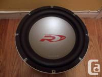 "Towering SWR-1241D 12"" Twin 4-ohm Voice Coil"