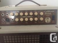 SWR California Blonde Acoustic Amp in mint condition. I
