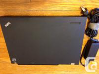 """I have a Lenovo T400 14"""" laptop computer for sale. It's"""