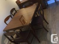 Gibbard solid maple furniture collect it now. 2 arm