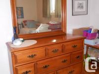 Marketing Roxton dresser with mirror ($250) and desk