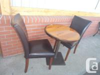 First pic table is $125, chairs seperate, 2nd pic 92