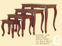 http://www.mvmtl.com/ Cofee Table @ $199 End Table @
