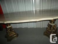 Table basse ronde en marbre, fait au portugal, a