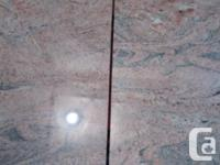 GRANITE items made to cover cabinet and end table make