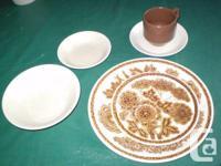FOR SALE.  Dinnerware: pattern-Safari, English
