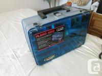 """Piano 1285"" double sided tackle box. This is one of"
