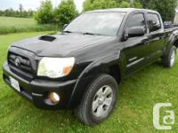 Make Toyota Model Tacoma Year 2005 Colour BLACK kms